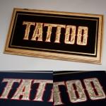 GlueChipped Tattoo Sign