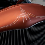 Pinstripe auf Hot Rod