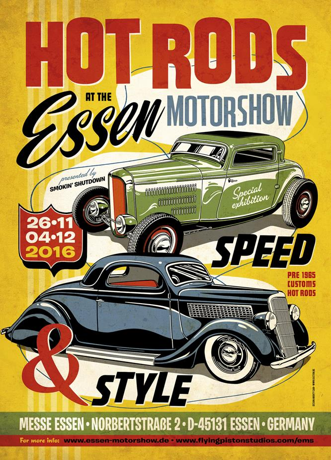 Hot Rods at Motorshow Essen