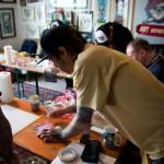 Pinstriping Workshop 014